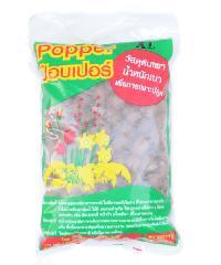 Popper  เม็ดดินเผามวลเบา ไซส์ XL บรรจุ  1 ลิตร - น้ำตาล