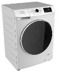 SHARP เครื่องซักผ้า ฝาหน้า ระบบอินเวอร์เตอร์  8 กก. ES-FWX812W สีขาว