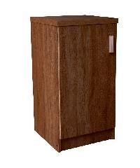 SF ตู้ล็อกเกอร์ 40 ซม DIY เปิดขวา สีดาร์คโอ๊ค D4022