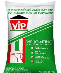 VIP ปูนฉาบรอยต่อยิปซั่ม VIP 20 kg. สีขาว