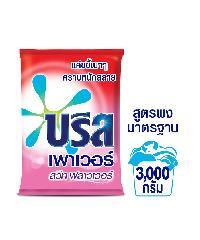 unilever ผงซักฟอก บรีส เพาเวอร์ สวีท ฟลาวเวอร์ 3000 กรัม ชมพู