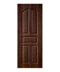 BWOOD ประตู VINYL BWOOD ECO-Series LBEN001 90x200 BROWN WENGE เจาะ -