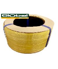 Global house สายรัดพลาสติก PP (7กิโลกรัม/ม้วน) Yellow Colour สีเหลือง