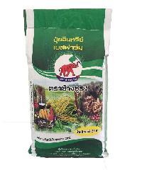 ช้างชูธง ปุ๋ยอินทรีย์   25 กก. สีแดง