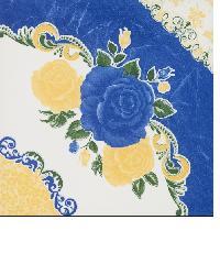 Bellecera 12x12 พิมพ์ชฎา บลู C. floor tiles