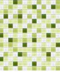 Cotto โมเสค 12x12 กลาส เบลนด์ 03 เขียว (06S) A. -