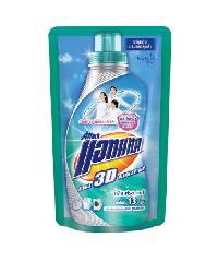 ATTACK น้ำยาซักผ้าแอทแทค (ชนิดเติม)  3ดี  ลิควิด 400 มล. (18P) สีเขียว