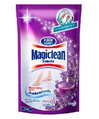 MAGICLEAN ผลิตภัณฑ์ทำความสะอาดพื้น (ชนิดเติม) ลาเวนเดอร์ 800มลX12  สีม่วง