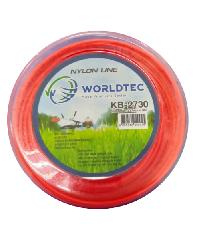 WORLDTEC เส้นเอ็นตัดหญ้า KB 2730 สีส้ม