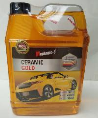 Mechanic-5 เซรามิกโกลล์ (น้ำยาเคลือบเงา ปกป้องสีรถ) Mechanic-5 สีทอง