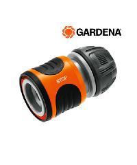 GARDENA  ข้อต่อสวม แบบมีระบบหยุดน้ำในตัว  ขนาด 1/2″(13 มม.)