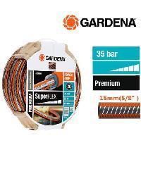 GARDENA สายยางยืดหยุ่นสูง ขนาด 12×12 (5/8″), 25 ม.  18105-26