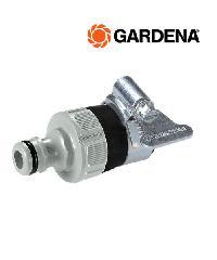 GARDENA  ข้อต่อสำหรับก็อกน้ำไร้เกลียว 14-17มม.  02908-20