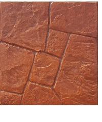 CONTEXTURE คอนกรีตพิมพ์ลาย  Stone 03 สีส้ม  สีส้ม