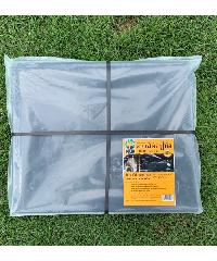 POLLO พลาสติกปูบ่อ  0.15mm.3x4m  สีดำ