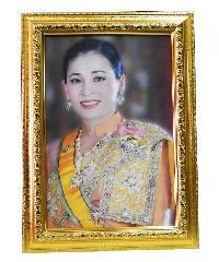 "Anchalee frame ภาพราชินี ของร.10  A15 ขนาด15""x21"""