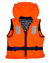 EVAL เสื้อชูชีพรับน้ำหนัก 50-70Kg EN ISO 12402-4  00495-4 สีส้ม-ดำ สีส้ม