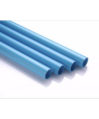 สามบ้าน ท่อพีวีซี ปลายเรียบ 200 มม. (3/4 นิ้ว)  - สีฟ้า