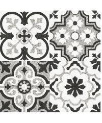 Sosuco 60x60 ตะวันฉาย ดำ (4P) A. Floor Tiles
