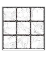 Sosuco 16x16 ตารางหินอ่อน-ขาว (6P) A.