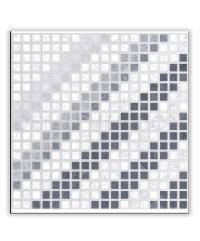 Sosuco 12x12 เกล็ดหินซ้อน-ขาว (11P) A.