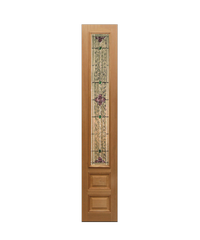 Masterdoors ประตูไม้จาปาการ์ ขนาด 40x160 cm. Jasmine-06 ธรรมชาติ