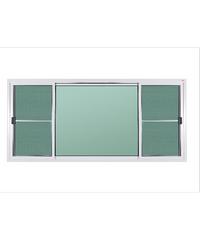A-Plus หน้าต่างบานเลื่อนสลับ ขนาด 240x110 cm. A-WS/013 ขาว