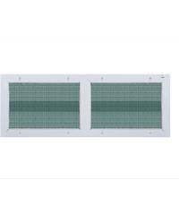 A-Plus ช่องลมบานซ้อน (พร้อมมุ้ง) 120x45 cm. A-P/015 ขาว