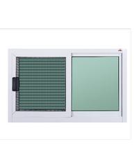 A-Plus ช่องแสงบานเลื่อน (พร้อมมุ้ง) ขนาด 80 x50 cm. A-P/016 ขาว