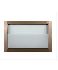 A-Plus หน้าต่างบานเกล็ดซ้อน ขนาด 70x45 cm. A-Plus Like ชา