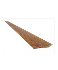 S&P บัวบนไม้ ขนาด 3/4 นิ้ว 4 นิ้ว 2.5เมตร 3/4 ธรรมชาติ