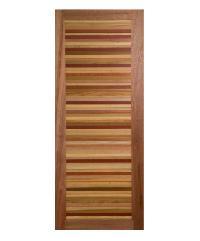 BEST ประตูไม้สยาแดง ขนาด120x220cm. GL60
