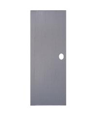 OK ประตูบานทึบพีวีซี ขนาด 70x180 ซม. พร้อมวงกบ  บานทึบ P1 เทา