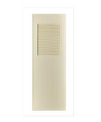 BATHIC ประตู PVC ขนาด 80x200 cm. BS3 สีครีม