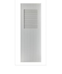 BATHIC ประตู PVC 80x200  BS3 สีเทา