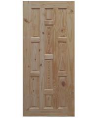 BEST ประตูพิเศษไม้สน  79x196Cm. ART-05