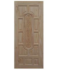 BEST ประตูไม้นาตาเซีย เกล็ดตลอด 60x200 -