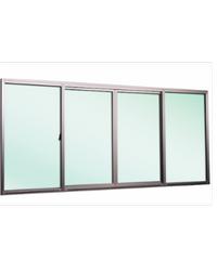 EZY WINDOW หน้าต่างบานเลื่อนคู่กลาง Trustand Ezy ขาว