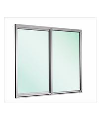 EZY WINDOW หน้าต่างบานเลื่อนอะลูมิเนียม Trustand Ezy ขาว