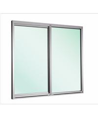 EZY WINDOW หน้าต่างบานเลื่อนคู่  New Ezy Plus ขาว