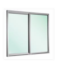 EZY WINDOW หน้าต่างบานเลื่อนคู่ ขนาด 180 x155 cm. New ezy Plus ขาว