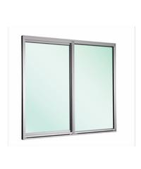 EZY WINDOW หน้าต่างบานเลื่อนคู่ ขนาด 155x120cm. New ezy Plus ขาว