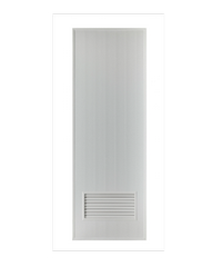 BATHIC ประตู PVC ( ไม่เจาะ)  ขนาด 80x200 cm. BC2 ไม่เจาะ สีเทา