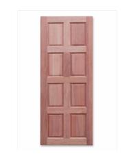 อุดรเก้าเจริญทรัพย์ ประตูทึบลูกฟัก 8 ฟักตรง ขนาด 80x200 cm. - ธรรมชาติ