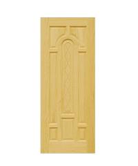 D2D ประตูไม้สนนิวซีแลนด์ ขนาด100x220cm. D2D-301 ธรรมชาติ