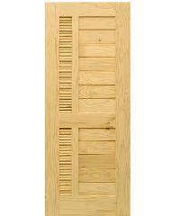 D2D ประตูไม้สนนิวซีแลนด์ ขนาด 65x200 cm. Eco Pine-019