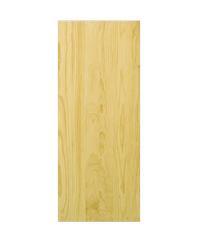 D2D ประตูไม้สนนิวซ๊แลนด์ ขนาด 100x200 cm. D2D-508 ธรรมชาติ