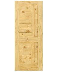 D2D ประตูไม้สนนิวซีแลนด์ ขนาด 86x198 cm. Eco Pine-007