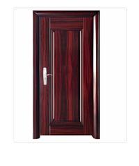 Wellingtan ชุดประตูเหล็กพร้อมวงกบ 106x212x13ซม. Hkai-C2R-out
