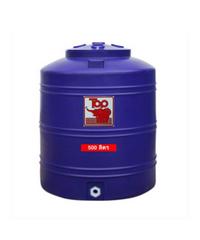 ถังเก็บน้ำพอลิเมอร์ 500 ลิตร TOT-500L น้ำเงิน